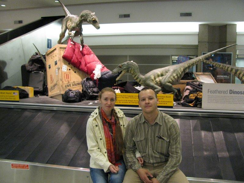 В Калгарийском аэропорту