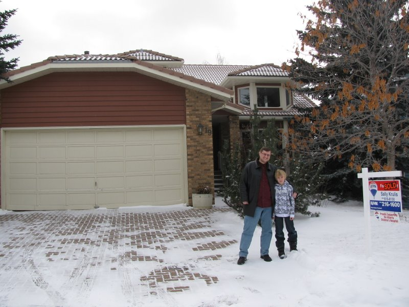 Паша с сыном и их новый дом!