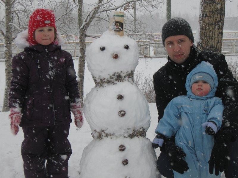 Антон с детьми