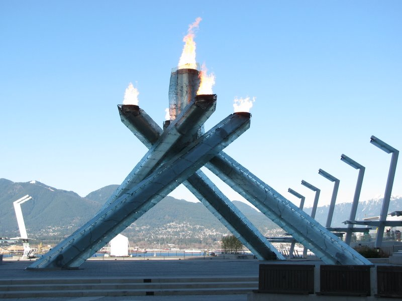 Olympic caldron