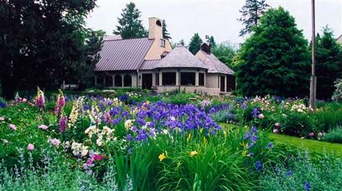 Сад во французском стиле у обычного