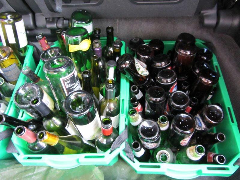 Наши бутылки