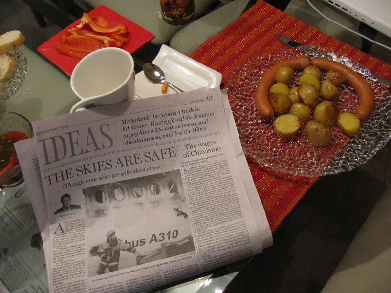 Газета к завтраку