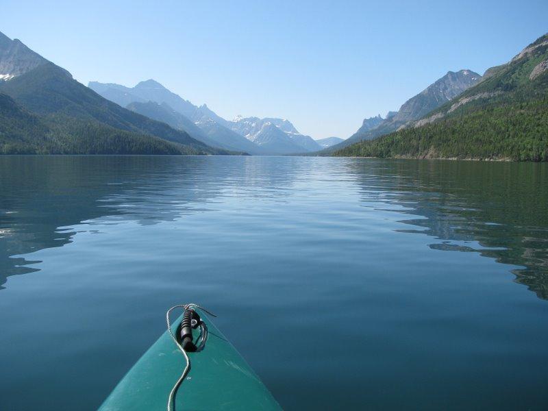 Мы плывем по озеру Ватертон