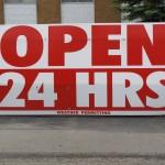 Открыты всегда:)