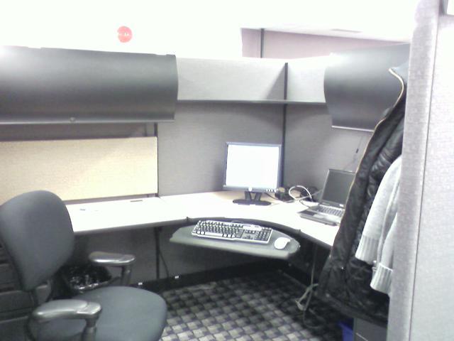 Вторая работа, рабочее место...