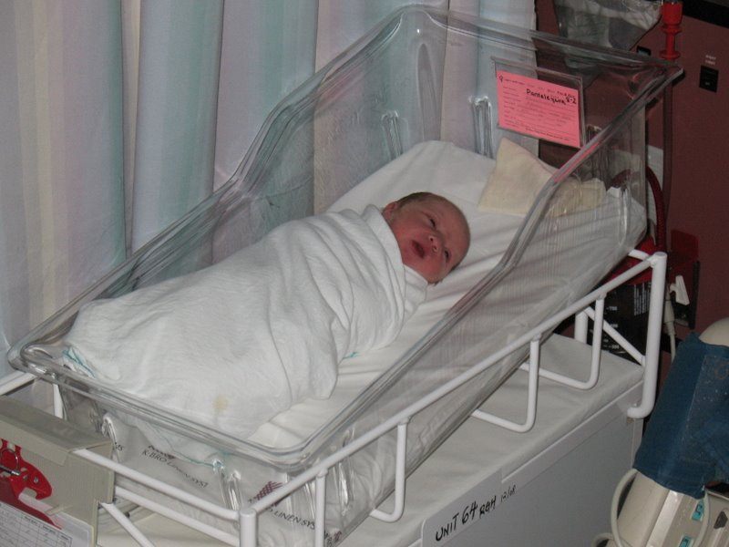Малышка в своей коробочке