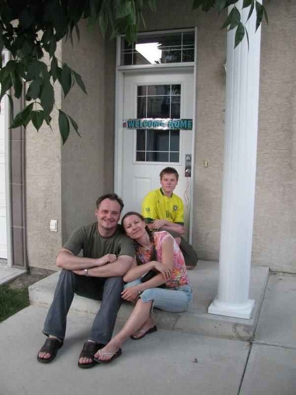 Счастливые владельцы своего жилья!:)