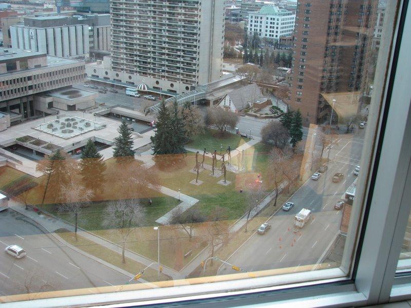 Виды из окон офиса