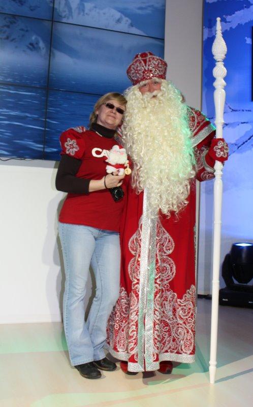 Дед Мороз из Великого Устюга поздравляет меня с днем рождения!