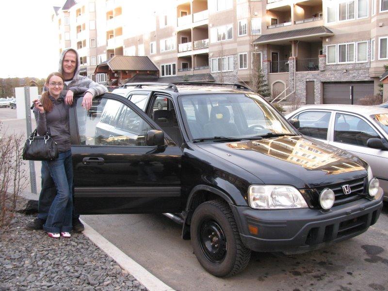Дева, Майк и машина:)