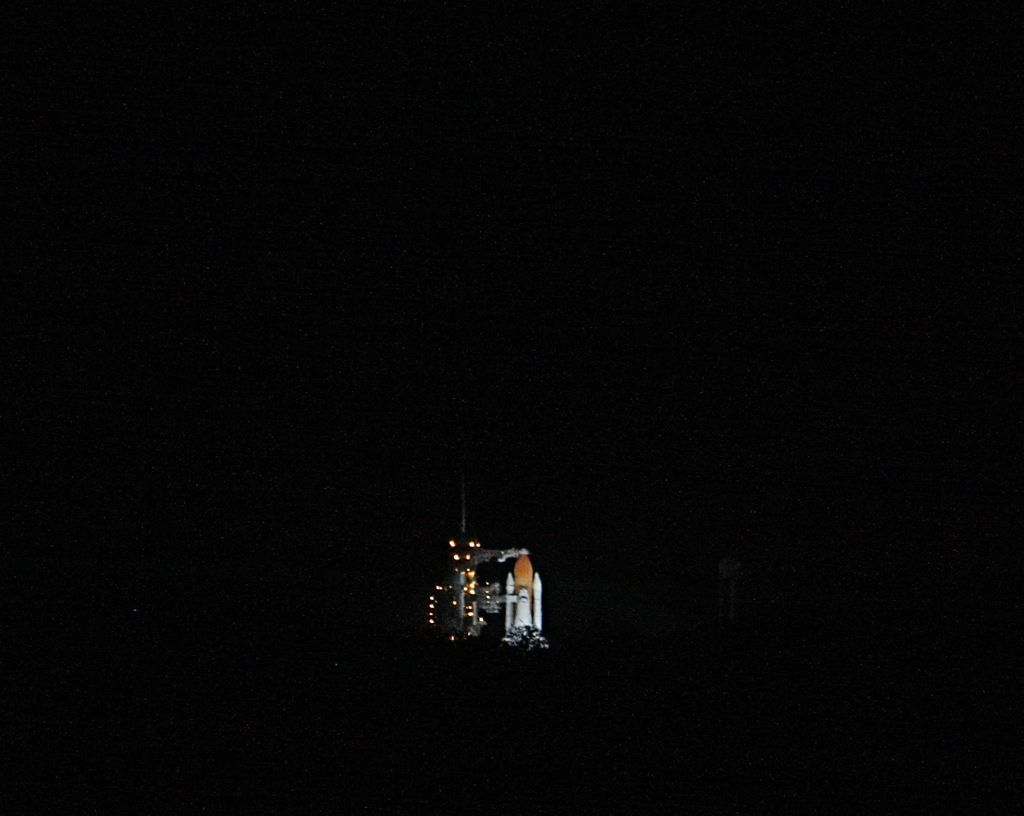 Launch Pad 39A, 6.5 miles away