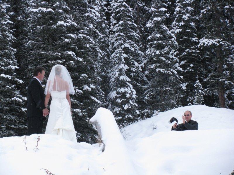 Зимняя свадьба в Лейк Луизе