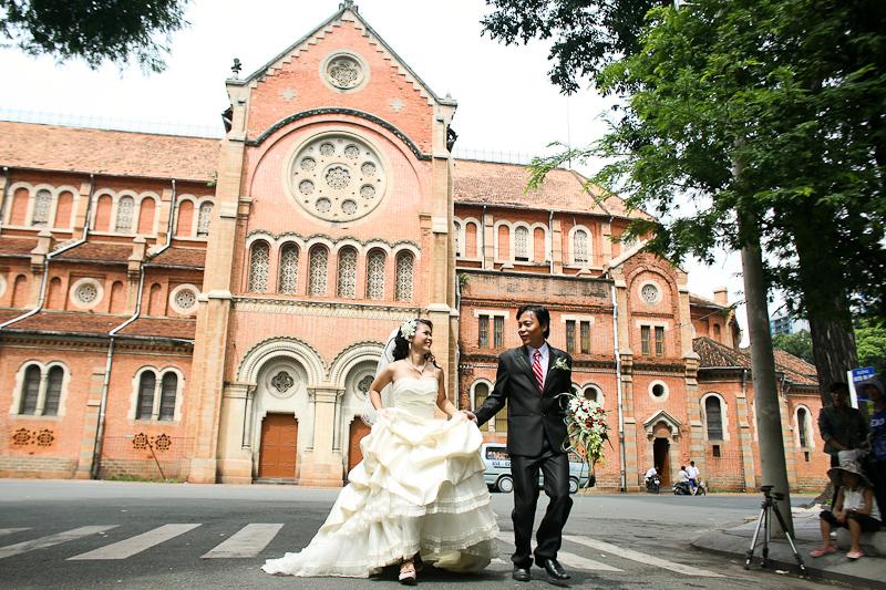 Свадьба в Сайгоне:)