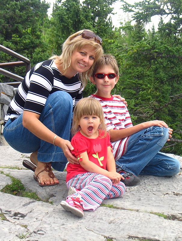 Екатерина и дети