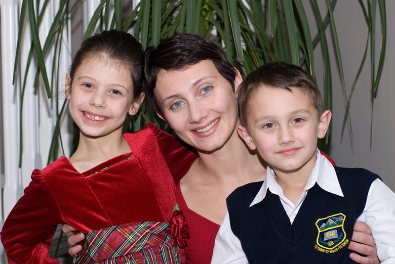 Яна и дети