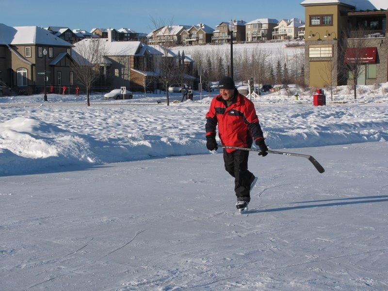 Серега хоккеист