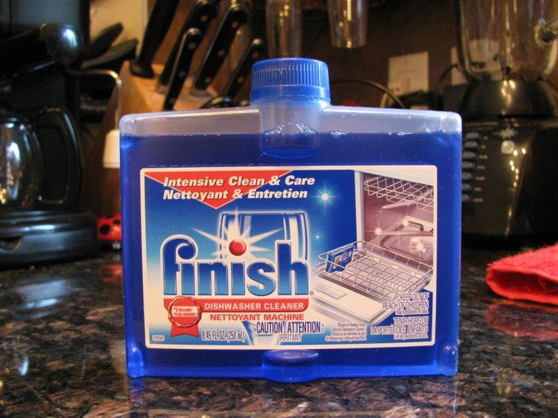Средство для чистки посудомоечной машины