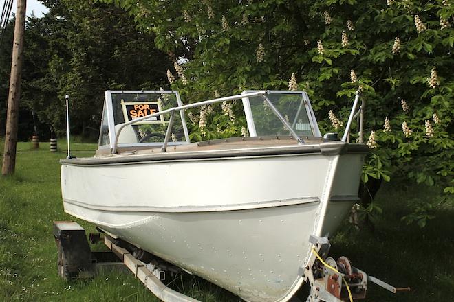 """Продается: """"Лодка в каштанах"""""""