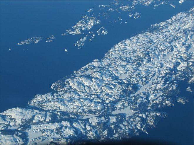 Интересная геология Ньюфаундленда.