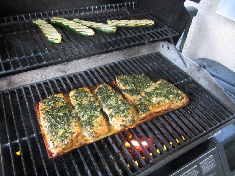 Рыба готовится